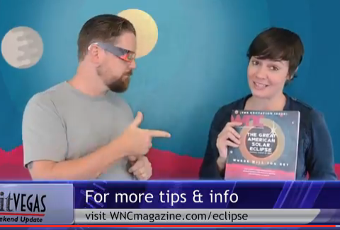 VIDEO: Asheville area solar eclipse tips and events, and more
