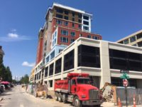 Cambria Hotel in downtown Asheville makes final push to opening day
