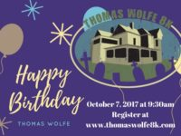 Thomas Wolfe 8K, Asheville oldest race, returns Oct. 7