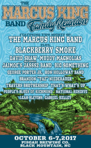 Marcus King Band Family Reunion Lineup