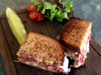 EAT OF THE WEEK: Don't Panic, I'm Just Here to Eat a Reuben for Lunch.