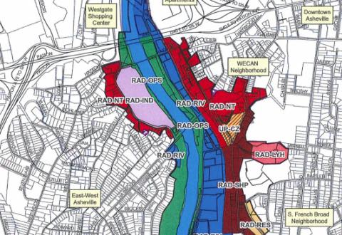 Despite gentrification concerns, Asheville City Council OKs new RAD zoning rules