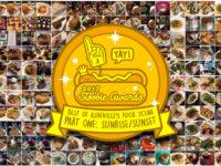 2017 STOOBIE AWARDS! Best of Asheville Food Scene pt 1: SUNRISE / SUNSET