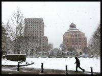 Winter blast blankets Asheville after forecasters blow call