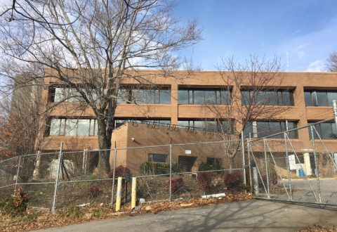 Action at proposed Embassy Suites hotel site in downtown Asheville: demolition permits pulled