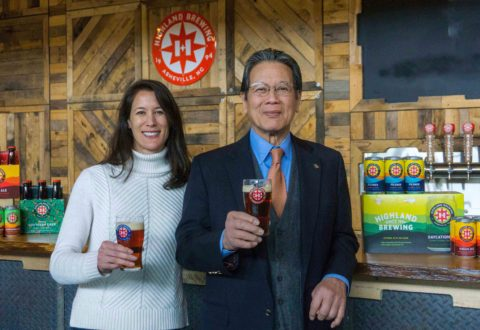 Highland Brewing unveils new logo, labels and branding