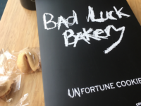 Dark humor fills the fortune cookies of Asheville's Bad Luck Bakery