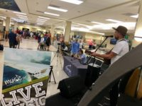Music on the Fly celebrates second anniversary at Asheville Regional Airport