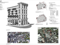New mixed-used 95 Broadway Hotel & Condos, proposed for downtown Asheville
