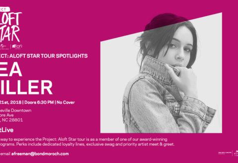 Music at Aloft Asheville: Bea Miller, The Bergamot to perform Aug. 21