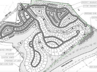 Riverwoods subdivision plan