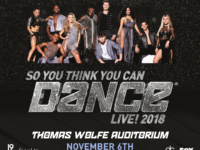 So You Think You Can Dance Live! arrives at Asheville's US Cellular Center on Nov. 6