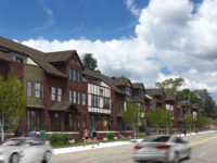 Townhouses proposed for Broadway Street in Asheville, where residential projects dominate