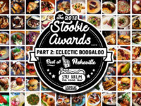 2018 STOOBIE AWARDS! Best of Asheville's Food Scene pt 2: ECLECTIC BOOGALOO