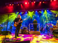 Warren Haynes and the Asheville Symphony on Saturday at Thomas Wolfe Auditorium. / Photo for Ashvegas.com by DAVID SIMCHOCK