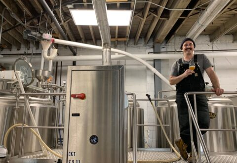 Brandon Audette of One World Brewing has created the Phazed fest to celebrate two of his passions: craft beer and electronic music. /photo by Jason Sandford