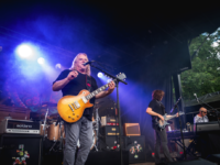 Gov't Mule played a sold-out show at the Highland Brewing Meadow Stage on July 3rd. Asheville native Warren Haynes leads the band. It's the first time in years that Haynes and his band have played outside Haynes' annual Christmas Jam concert held each year in Asheville./ photo by Stephan Pruitt