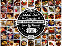 2019 ASHEVILLE FOOD FAN AWARDS! Best of Asheville part 3: THE FINAL COUNTDOWN