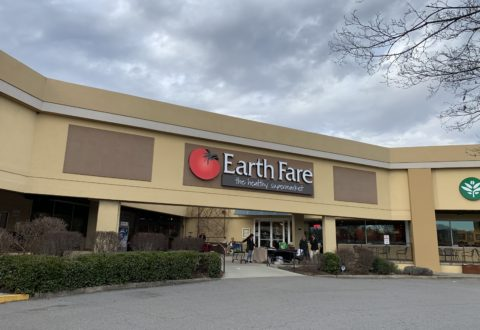 Earth Fare grocery store at Westgate Shopping Center./ photo by Jason Sandford